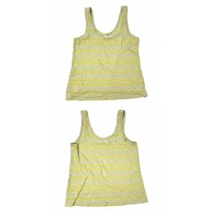 HI-LINE - striped tank top